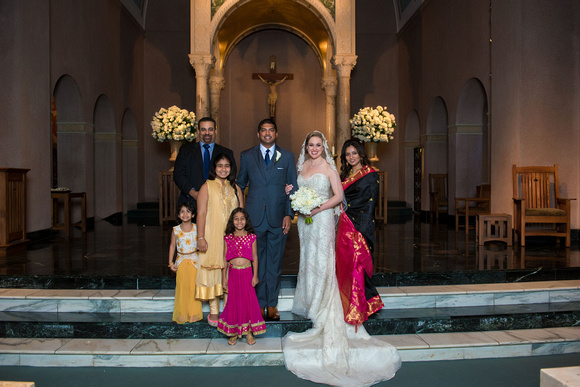 St_Annes_Catholic_Church_Houston_Fusion_Indian_Wedding_Group_Family_Photos_003